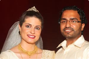 Roshan weds Trancy